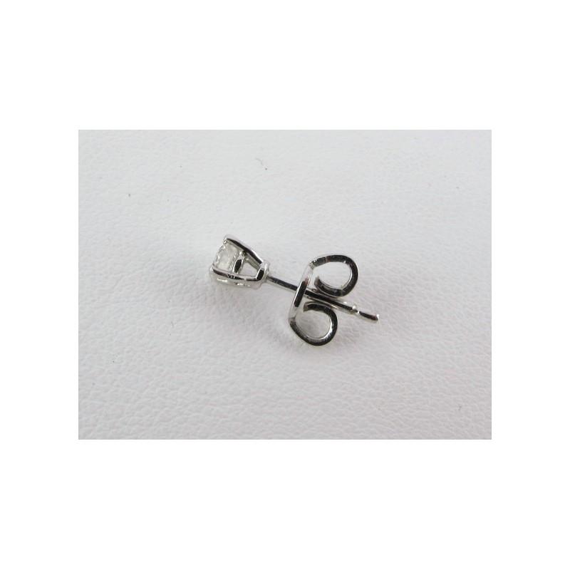 Orecchini Solitari con Diamanti img - 4