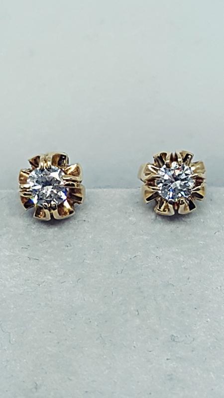 Orecchini con diamanti  img - 2