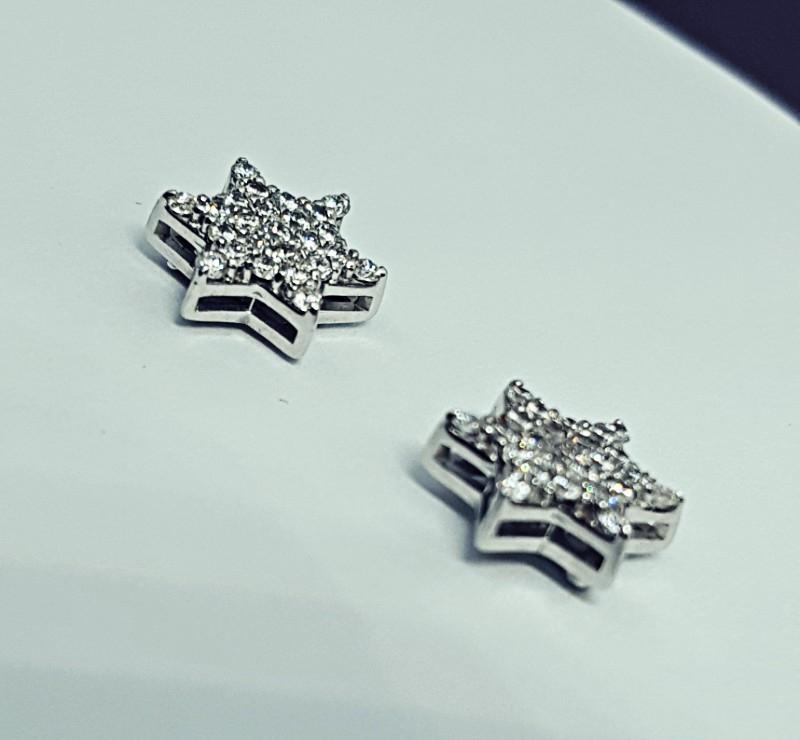 Orecchini con diamanti  img - 3