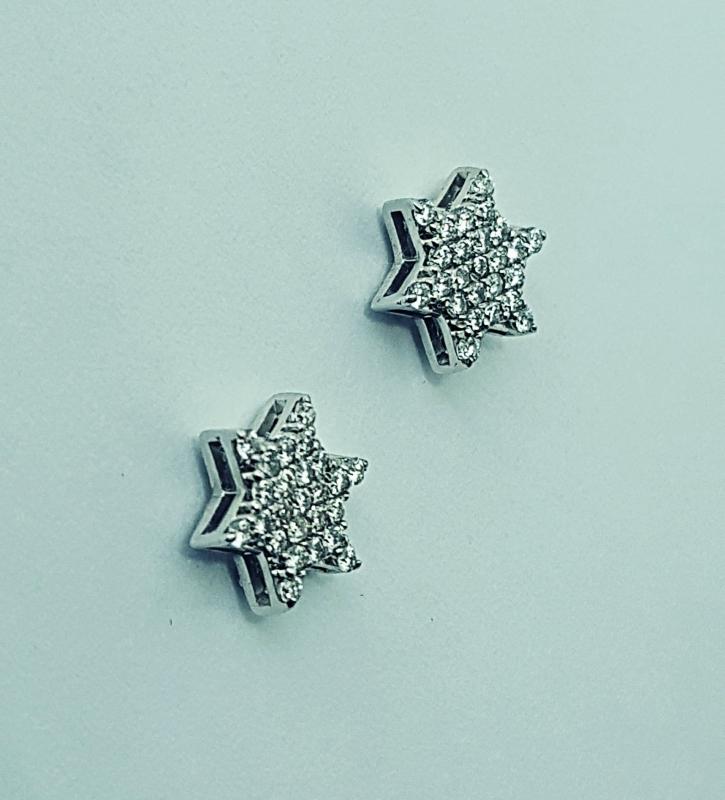 Orecchini con diamanti  img - 5